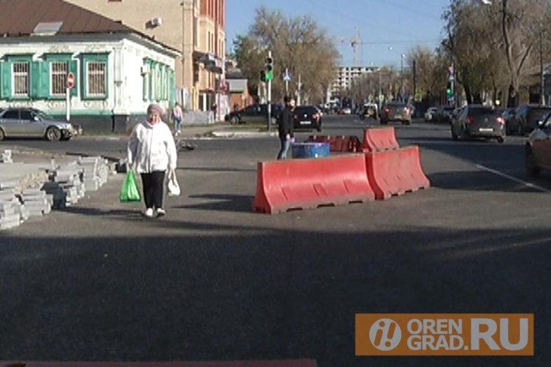 Срок завершения ремонта дорог в центре города неизвестен