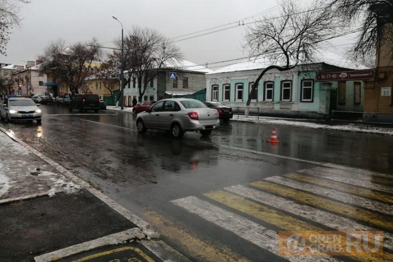 возле первой гимназии в Оренбурге сбили ребенка