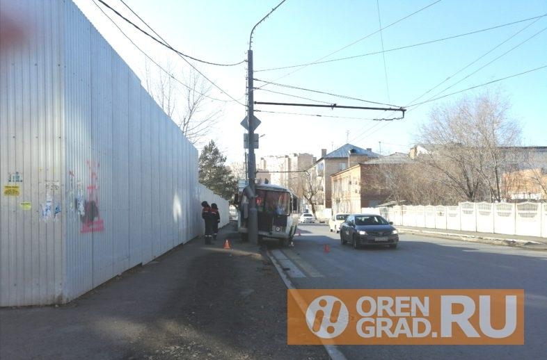 В Оренбурге в ДТП с автобусом пострадали 10 человек