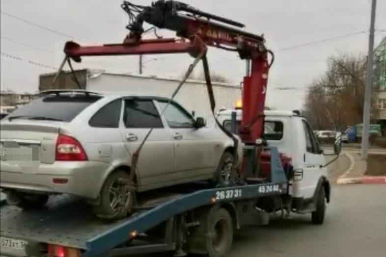 В Оренбурге задержали пьяную автоледи