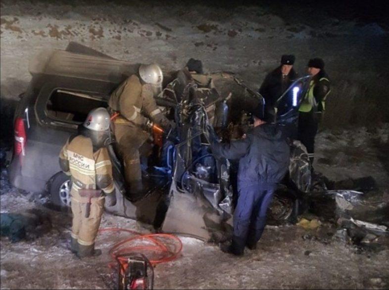 Страшная авария под Оренбургом. Погибли шесть человек