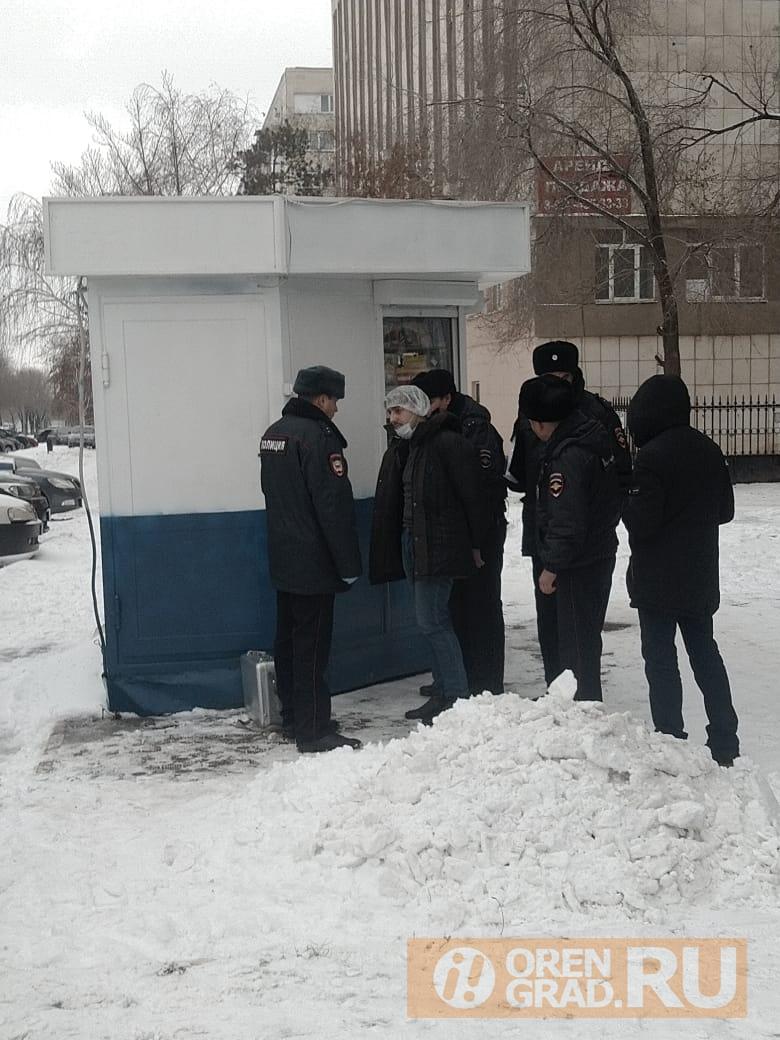 Вооруженное ограбление банка в центре Оренбурга