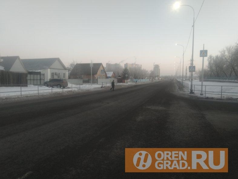 Дорожная неудача Оренбурга