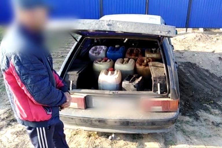 Житель Ташлы похитил топливо с собственной работы на 12 тысяч рублей