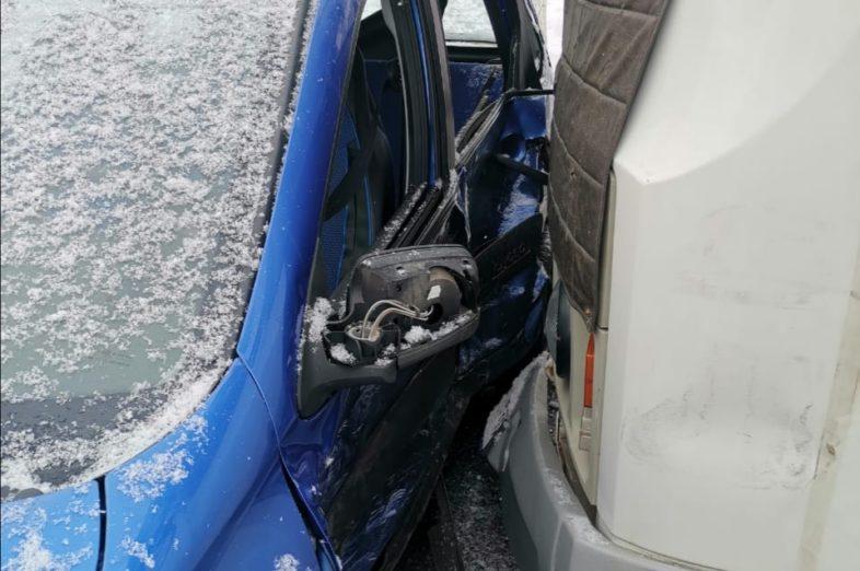 В Оренбурге в аварии с пассажирским автобусом пострадал 2-летний ребенок