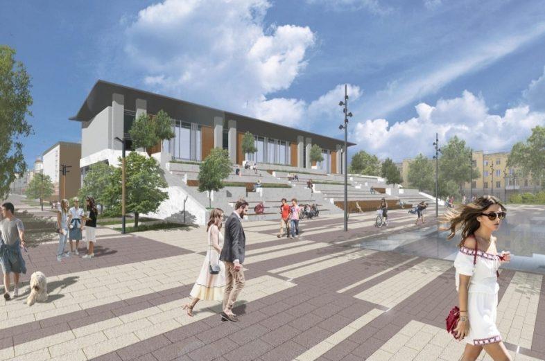 В Оренбурге главная площадь возле Дома Советов может быть больше