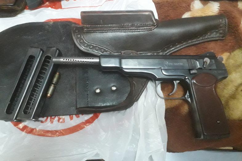 Оренбургская ФСБ обнаружили склад оружия и боеприпасов. Есть наказанные