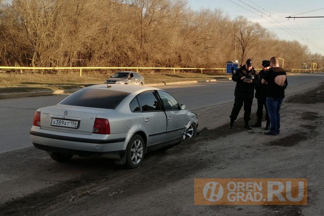 В Оренбурге в Южном поселке после ДТП произошла потасовка