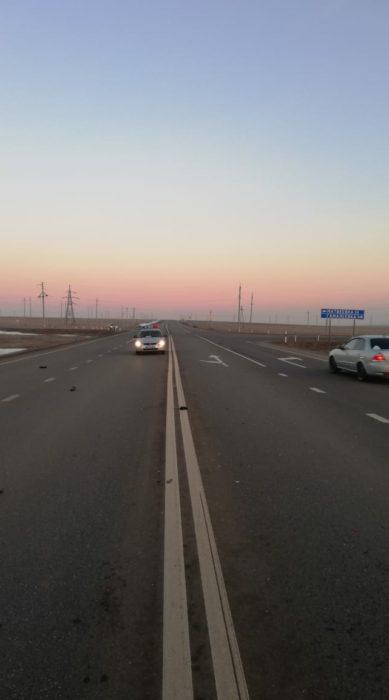 В Оренбургской области ночью погиб пешеход