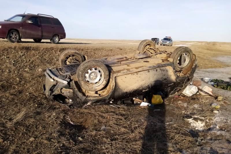 В ДТП недалеко от Адамовки мужчина получил серьезные травмы