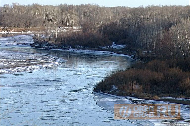 Уровень воды в Урале возле Оренбурга за сутки поднялся на 40 см