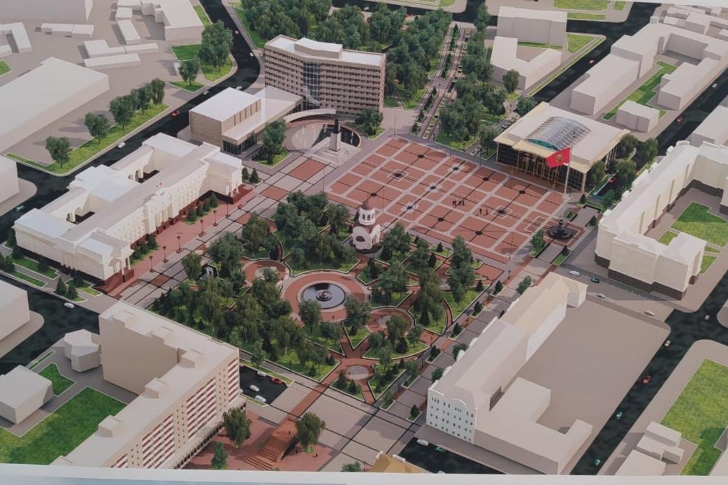 Градостроительный совет Паслера рассмотрит проект главной площади
