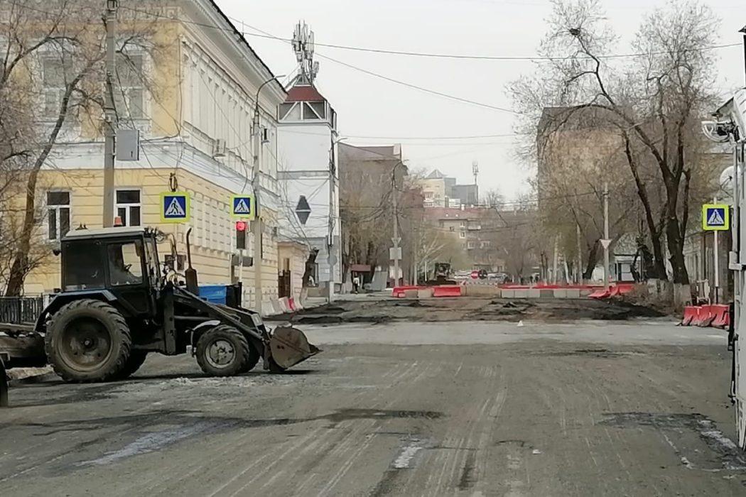 На 7 улицах в Оренбурге сегодня будут ремонтировать дороги