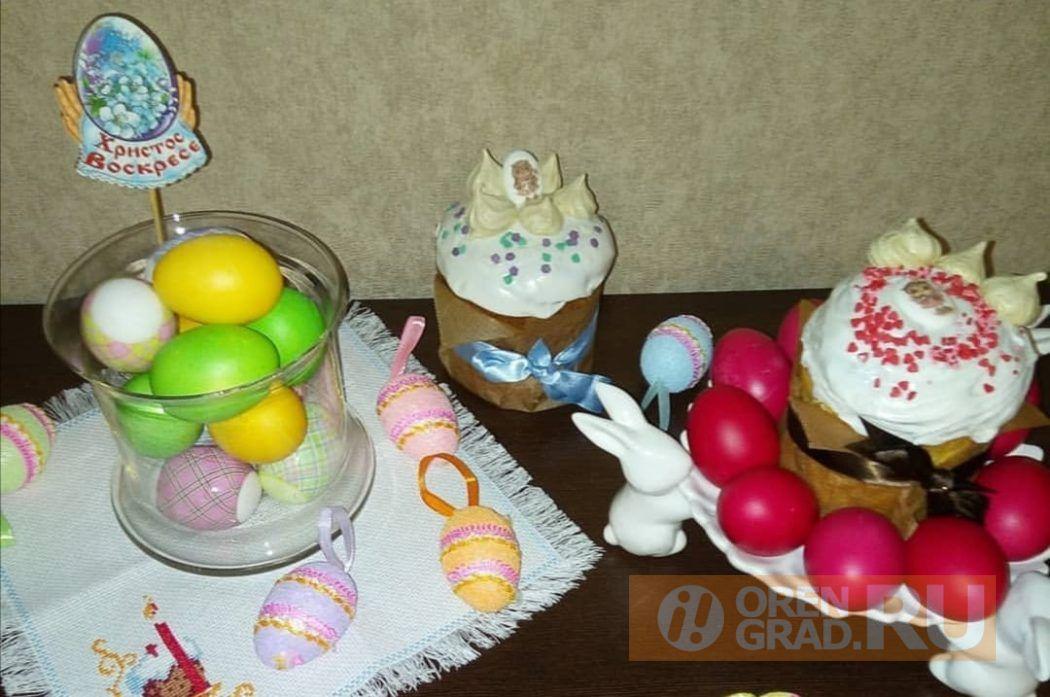 Оренбуржцы празднуют Светлую Пасху