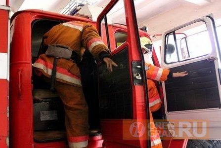 В Нежинке в загоревшемся вагончике пострадал оренбуржец