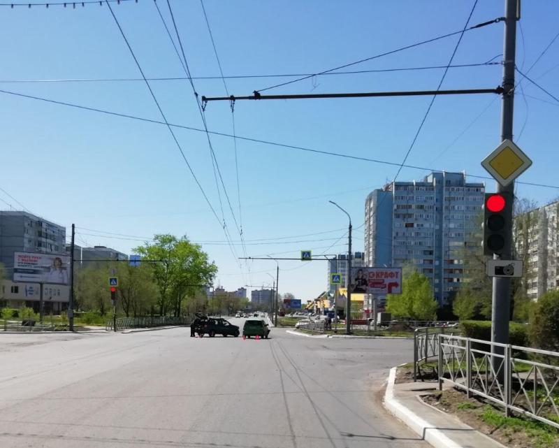 В Оренбурге в аварии пострадал 3-летний ребенок