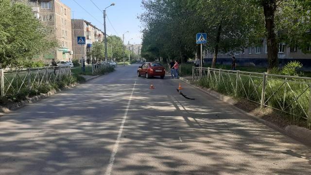 В Новотроицке на пешеходном переходе сбили женщину