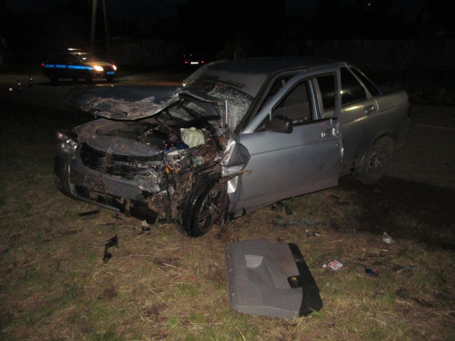 В Бузулуке пьяный водитель спровоцировал ДТП