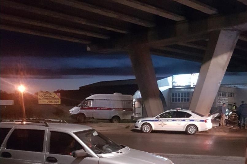 В ДТП на улице Донгузской в Оренбурге пострадала женщина