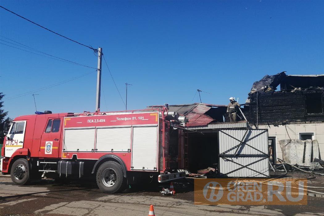 Пожар оставил без крова жителей поселка им. Куйбышева