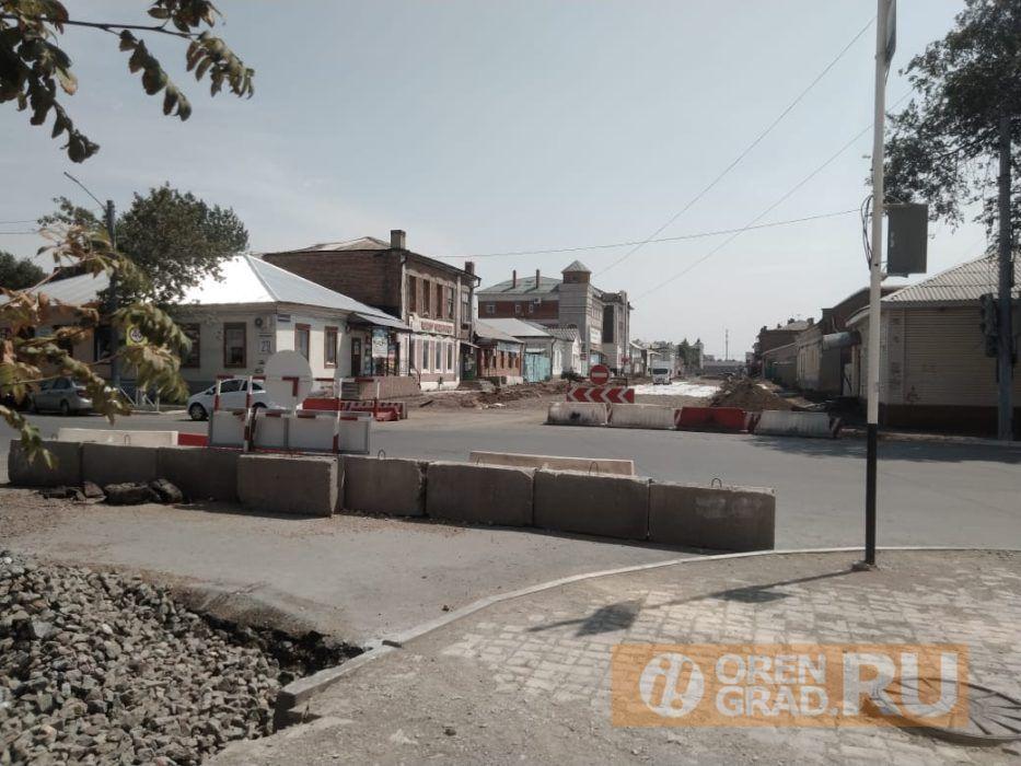 В центре Оренбурга в четвёртый раз за три месяца прорвало трубу