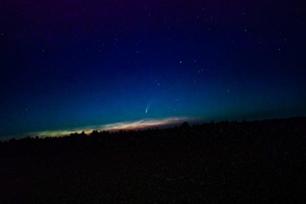 Над Оренбуржьем летит комета «Неовайз»