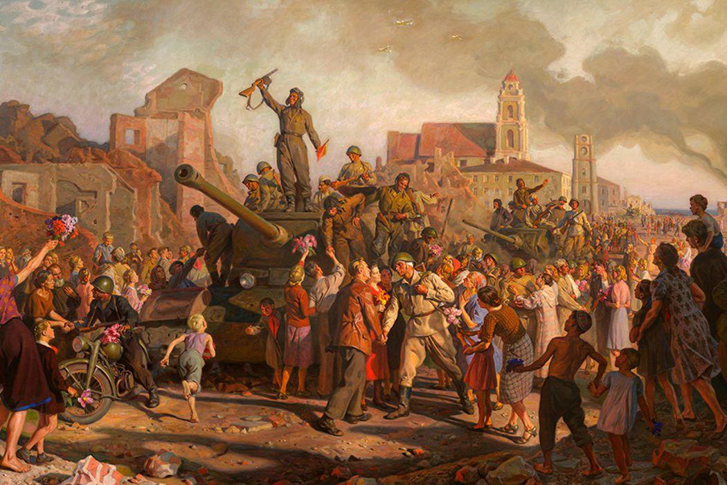 Освобождение Минска от фашистов, образование ГАИ, первое испытание автомобиля Бенса и сколько стоил первый телевизор. День в истории