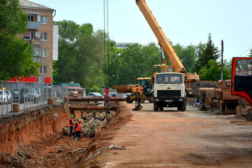 В Оренбурге после капитального ремонта открыли улицу Аксакова