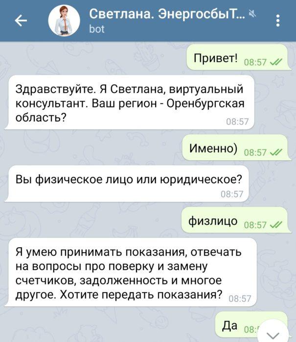 """Чат-бот """"ЭнергосбыТ Плюс"""" поможет клиентам решать вопросы из дома"""