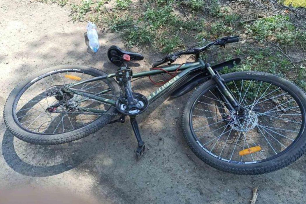 В поселке Берды водитель Калины сбил велосипедиста-школьника