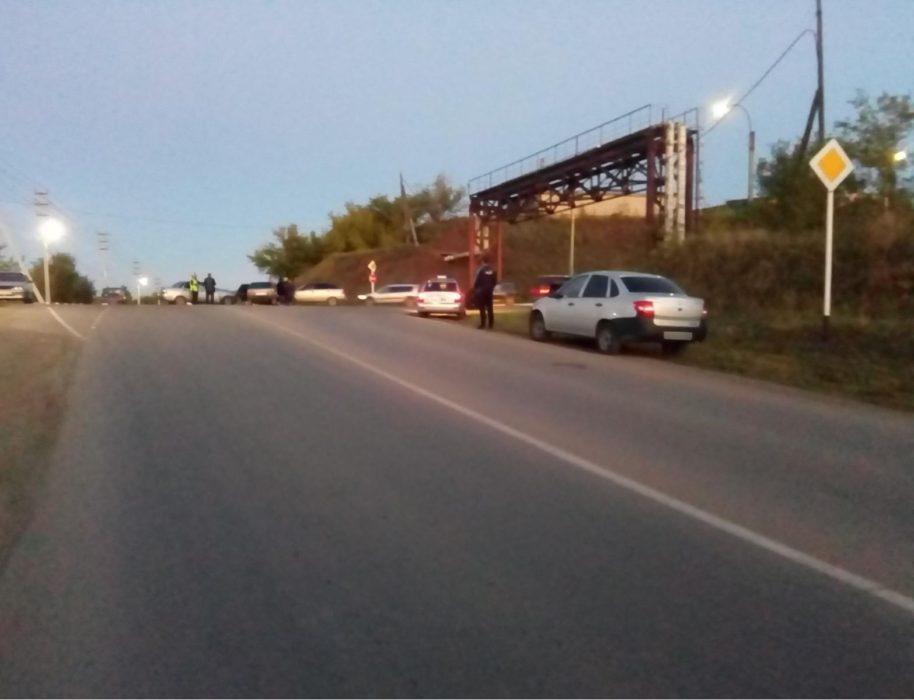 В аварии с тремя автомобилями в Медногорске пострадал ребенок
