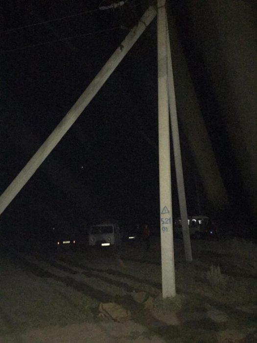 В Соль-Илецком районе погиб подросток, упав с опоры ЛЭП