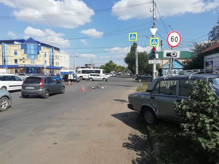 Треть всех аварий в России связаны с наездом на пешеходов