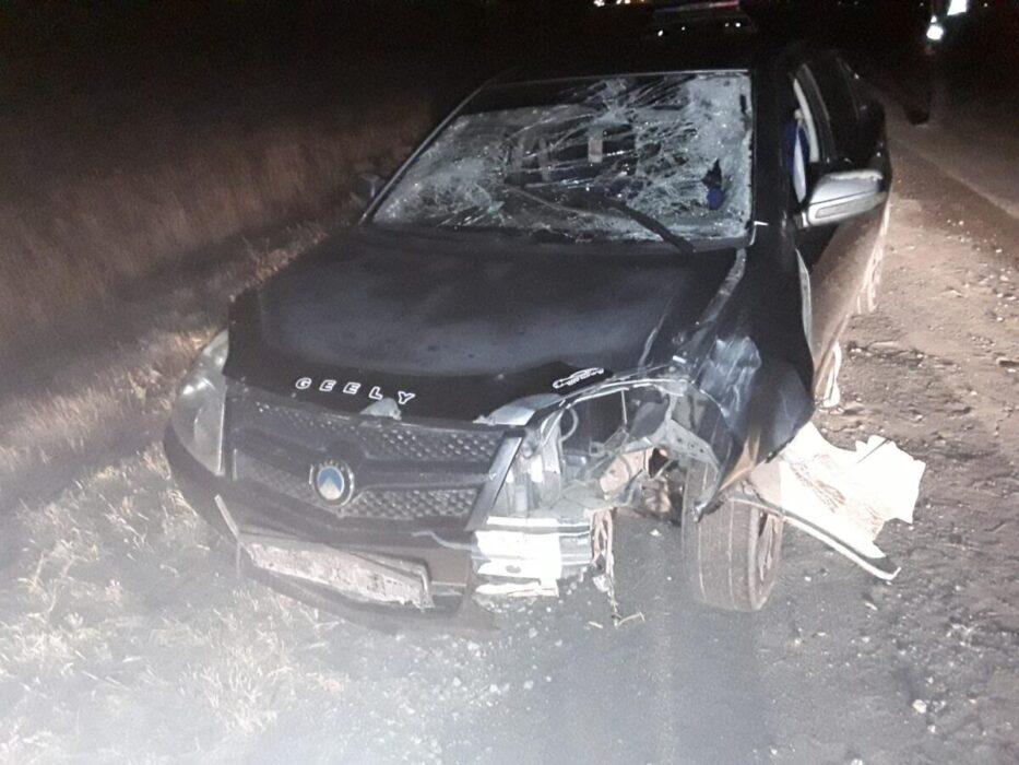 В Новотроицке этой ночью водитель иномарки насмерть сбил пешехода
