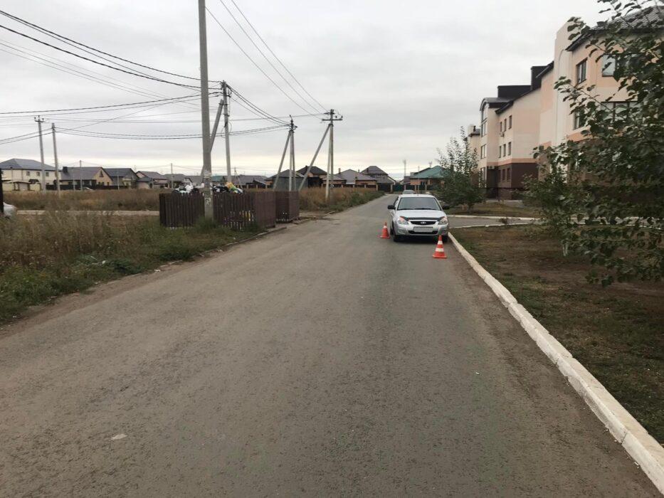 В Оренбургской области сбили школьника