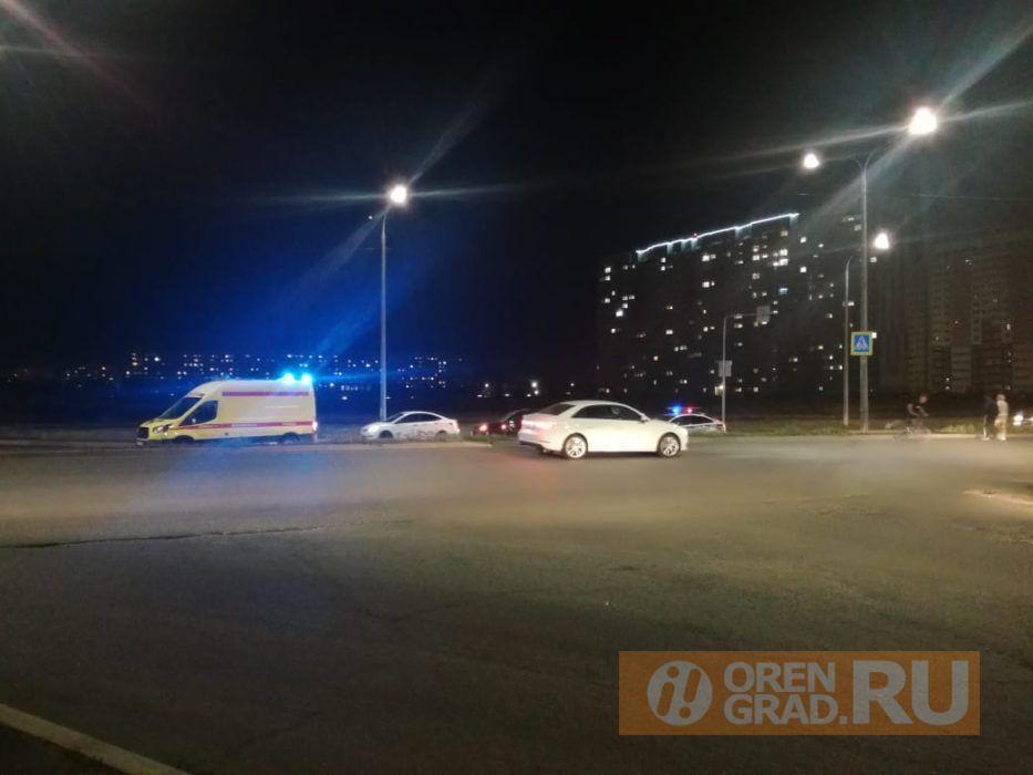 В Оренбурге на улице Поляничко сбили пешехода