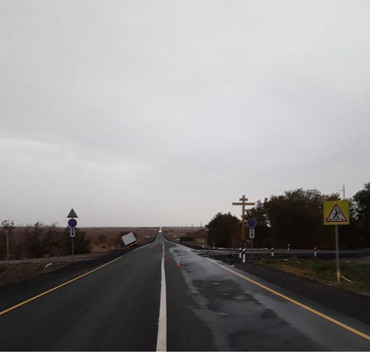 На трассе Орск-Шильда произошло смертельное ДТП
