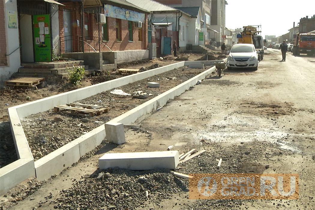 В Оренбурге для проезда транспорта открыли улицу Комсомольскую