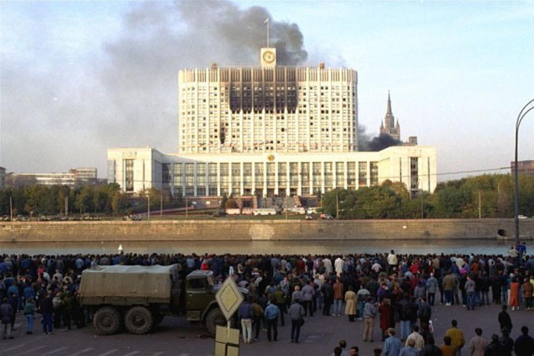 Московское противостояние Президента с Верховным Советом РФ, СОС и трезвость