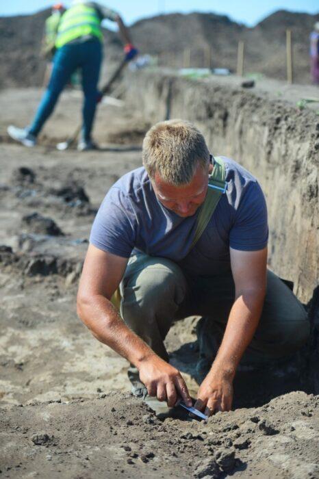 Археологические находки с Восточного участка Оренбургского месторождения помогли в создании фильма о древних кочевниках-сарматах