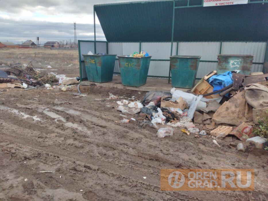 Под Оренбургом в мусоровоз вместе с отходами погрузили человека