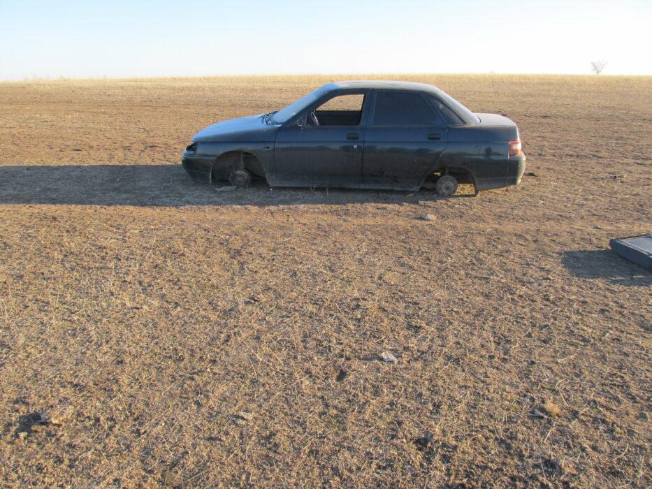 В Новоорском районе подросток угнал машину и разобрал ее