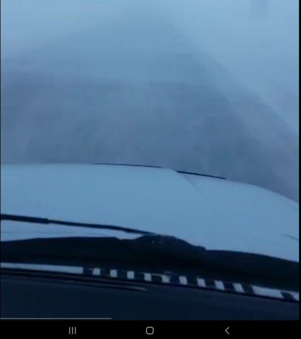 Из-за непогоды закрывается движение на орской трассе
