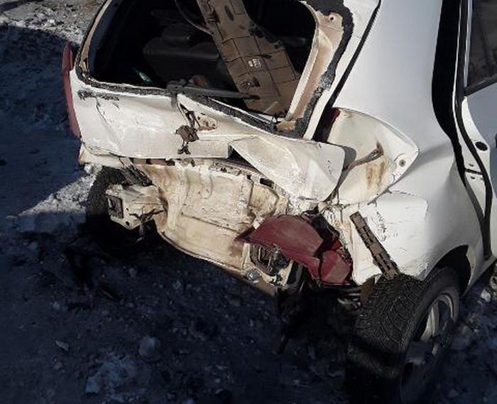 В Новотроицке в ДТП попали две автоледи