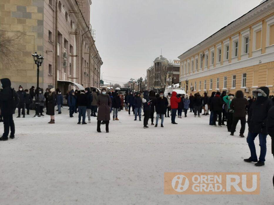 Оренбургский ОМОН покинул Советскую