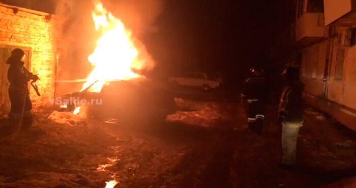 В Бузулуке сгорел автомобиль — Оренград