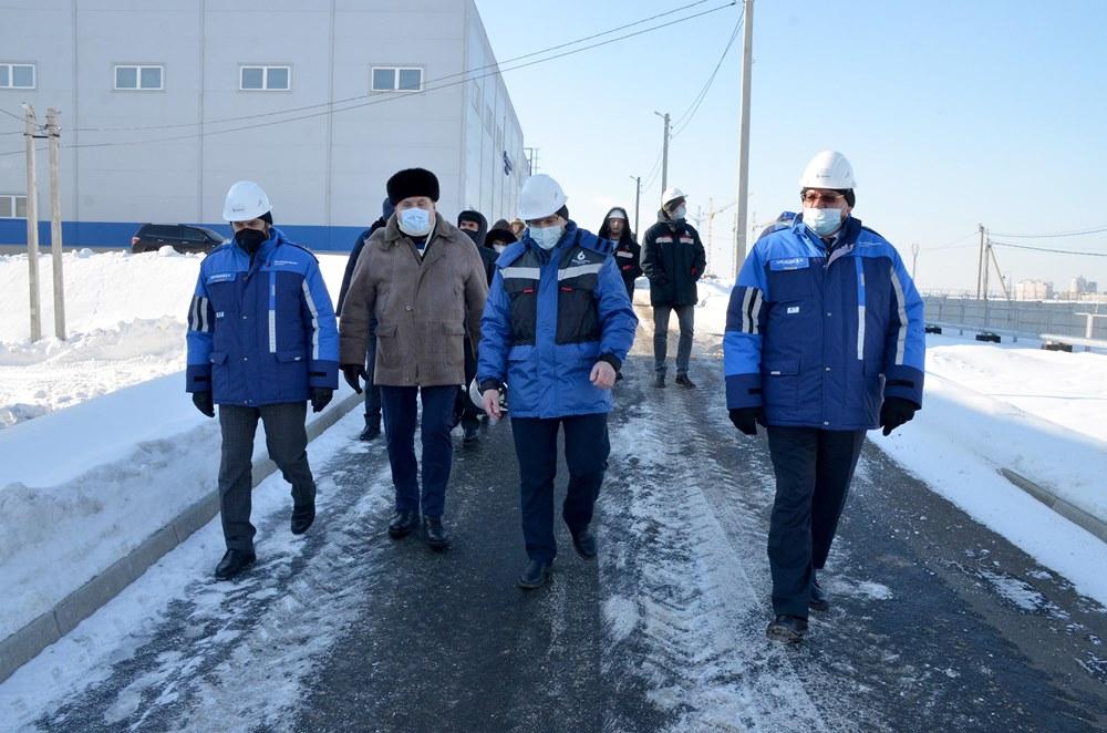На Южно-Уральском водозаборе побывал депутат Госдумы Юрий Мищеряков