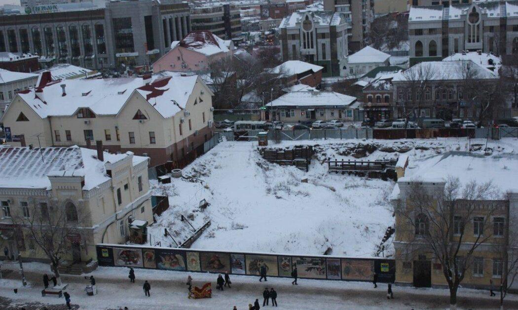 Котлован Атриума в Оренбурге намерены засыпать