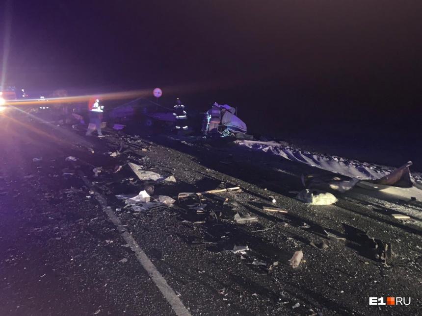 В Свердловской области в аварии погиб житель Оренбуржья