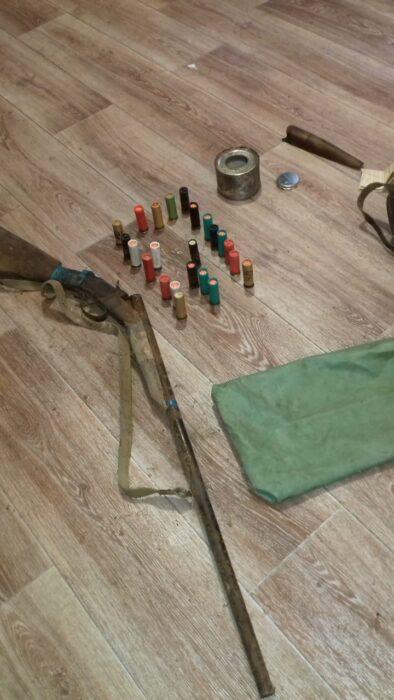 В приграничных районах Оренбуржья много не зарегистрированного оружия